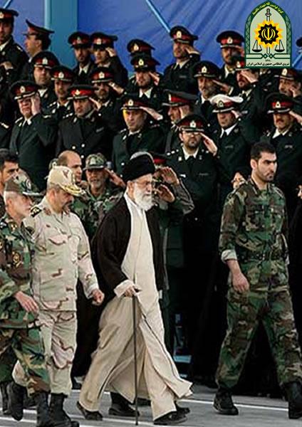 آسیب های نیروی انتظامی جمهوری اسلامی ایران به انقلاب